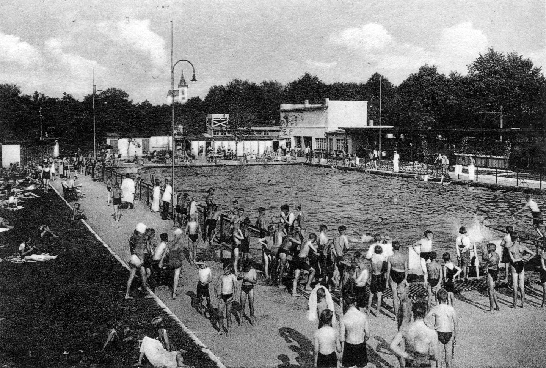 Staßfurt Schwimmbad staßfurt schwimmbad hecklinger straße 1940er jahre